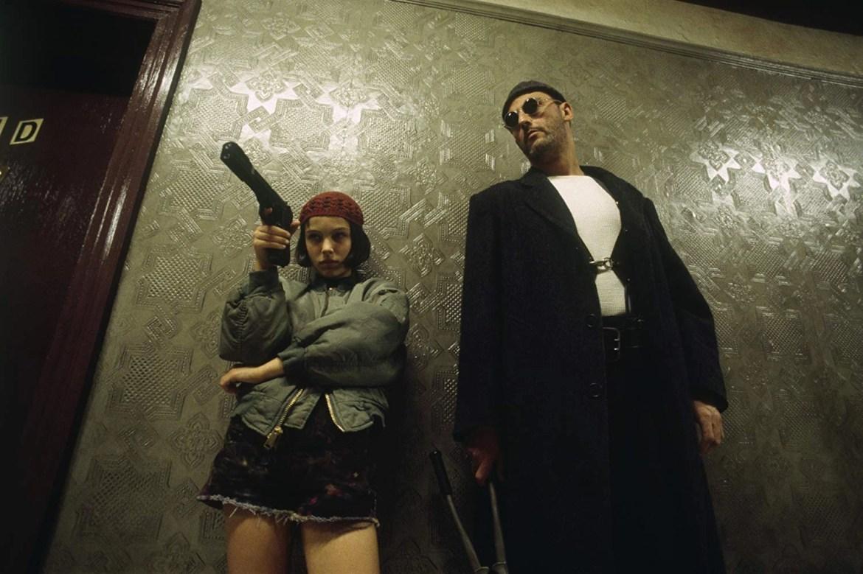 Natalie Portman and Jean Reno in Léon (1994)