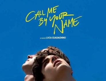 poster chiamami col tuo nome