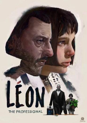 Léon (1994) locandina film l'occhio del cineasta