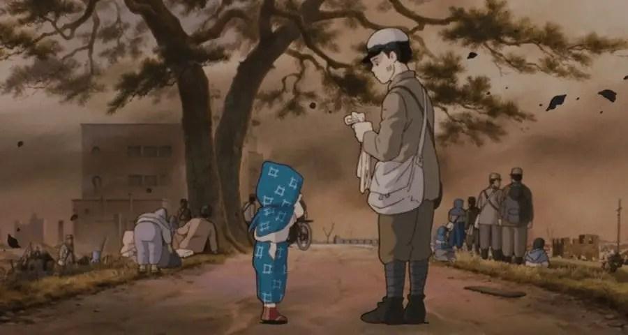 top film animazione - una tomba per le luciole