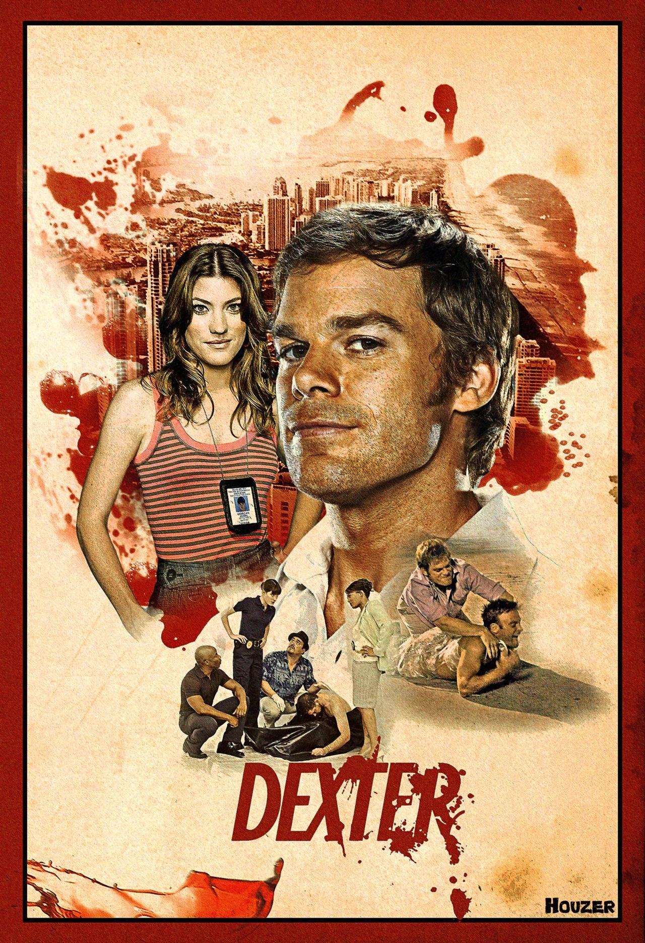 poster artistico di Dexter 1 stagione