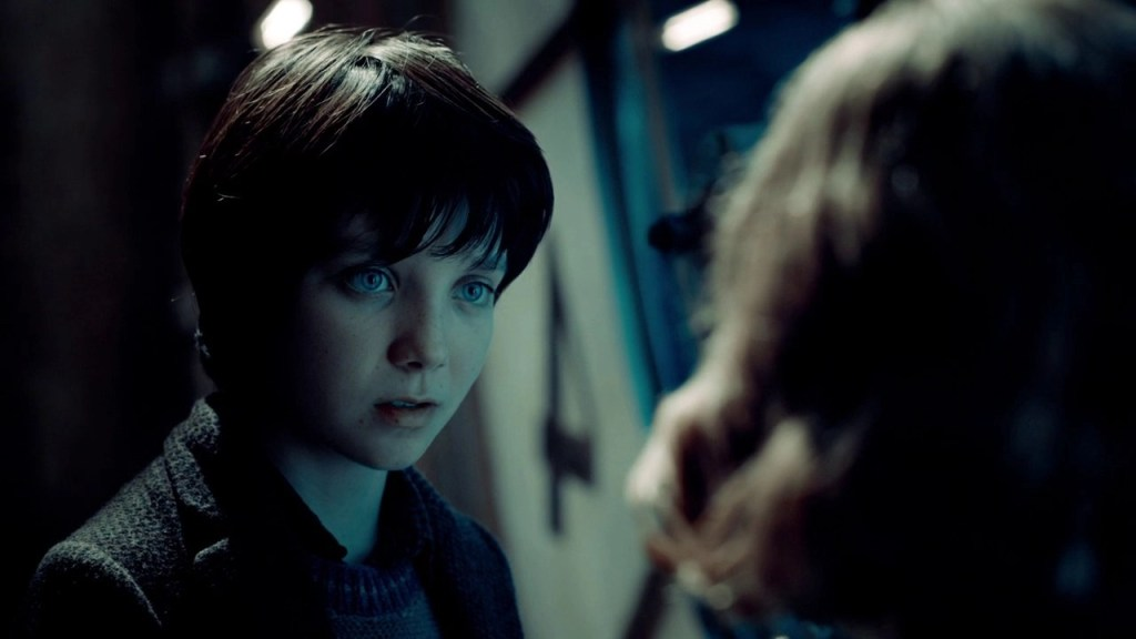 Asa Butterfield in Hugo Cabret (2011)
