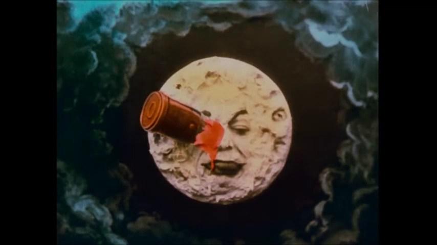 viaggio nella luna la faccia della luna melies