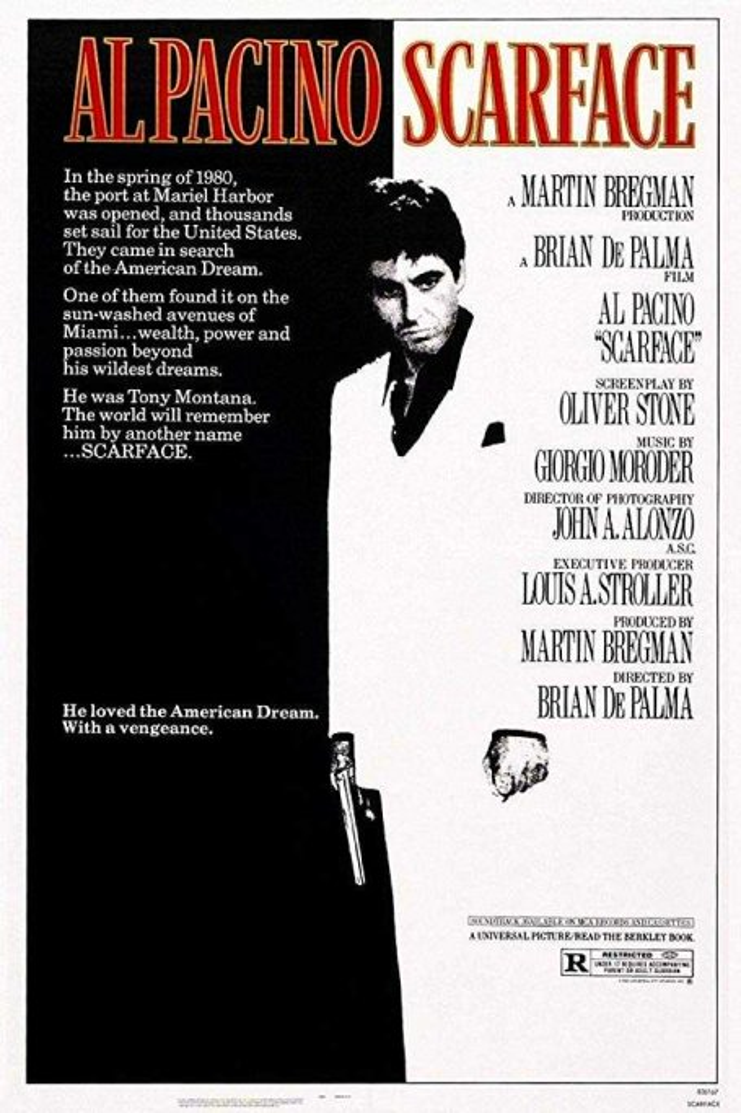 poster film al pacino scarface