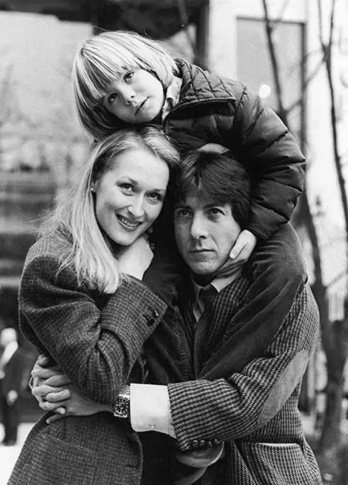 dustin hoffman e Meryl Streep