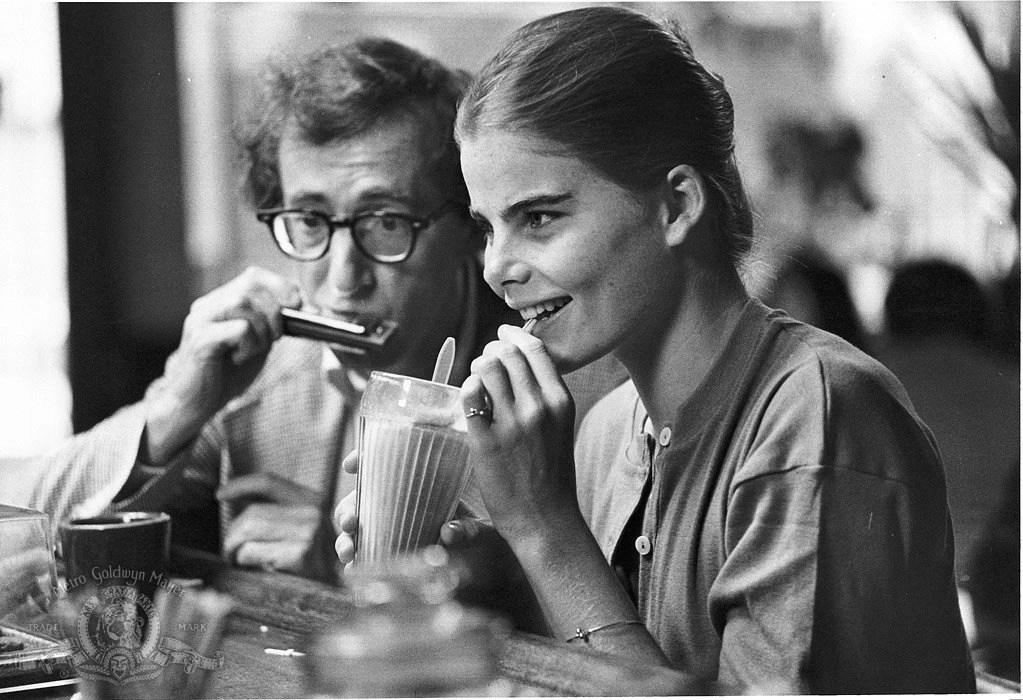 Woody Allen and Mariel Hemingway