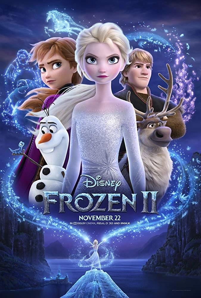 locandina frozen 2