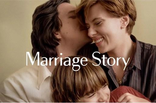 storia di un matrimonio recensione film poster