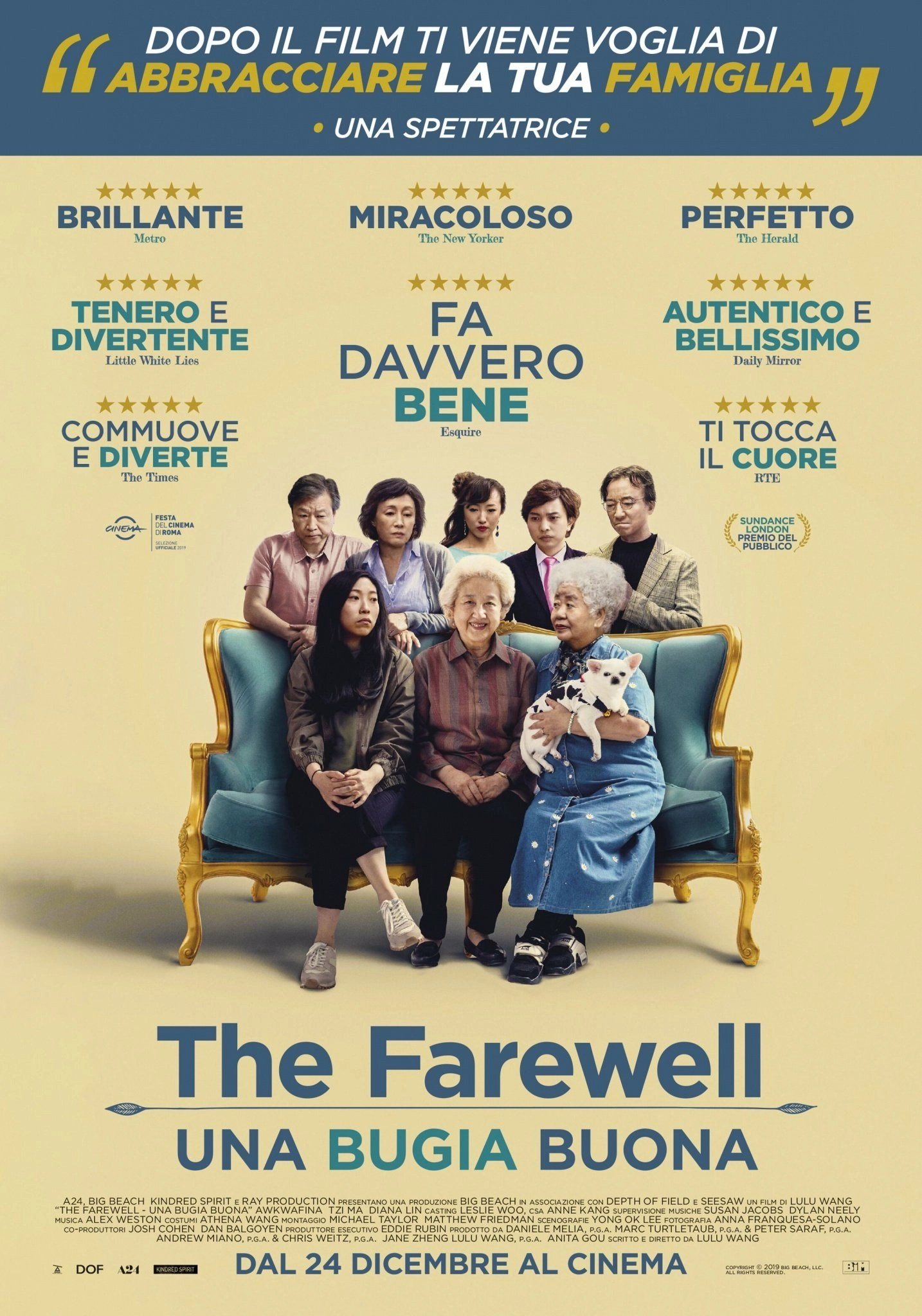the farewell una buona bugia poster