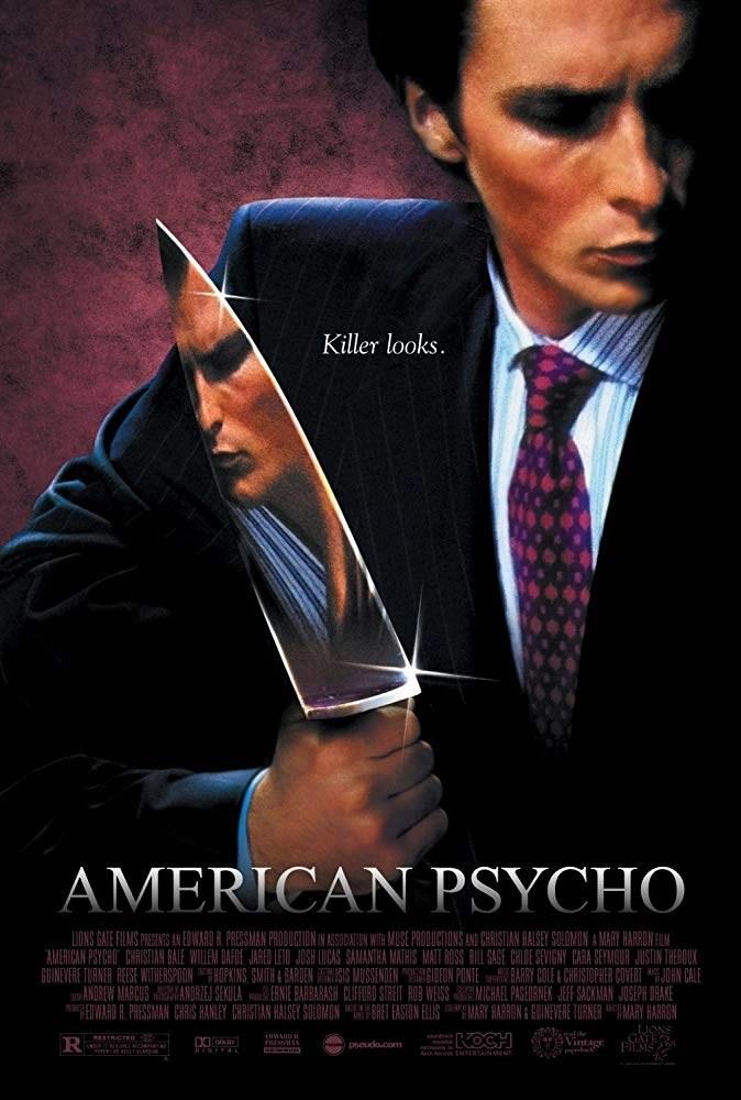 LOCANDINA American Psycho horror