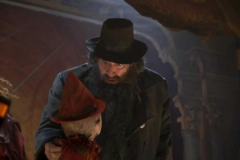 Gigi Proietti in Pinocchio (2019)