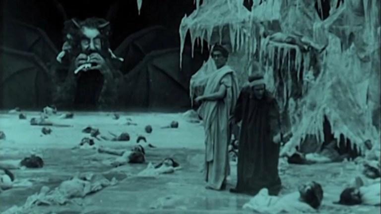 Salvatore Papa e Arturo Pirovano in L'Inferno (1911)