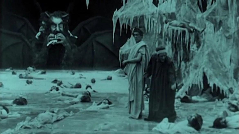Salvatore Papa and Arturo Pirovano in L'Inferno (1911)