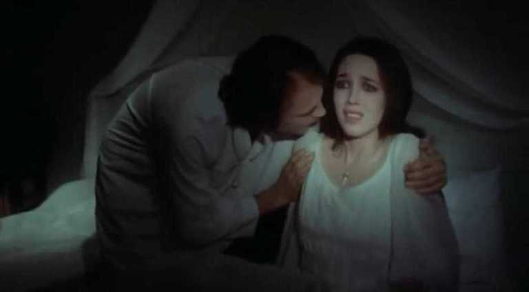 Isabelle Adjani and Bruno Ganz in Nosferatu 1979