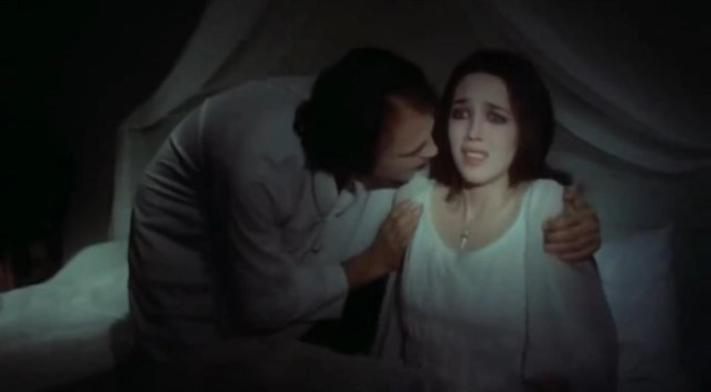 Isabelle Adjani and Bruno Ganz in Nosferatu 1979