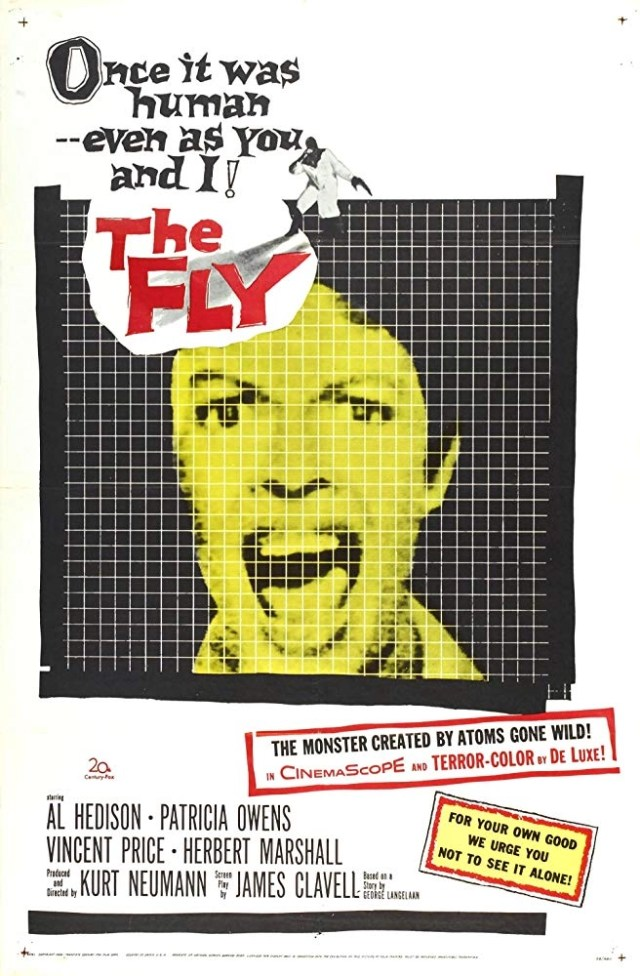 The Fly (1958) locandina
