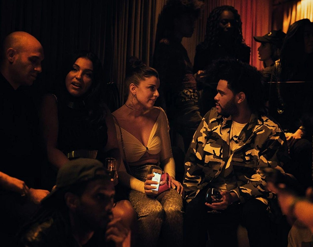 The Weeknd and Julia Fox in Uncut Gems (2019)