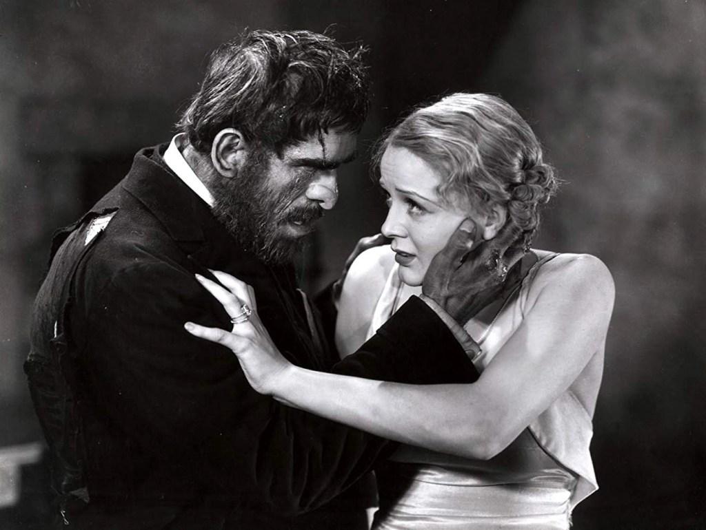 Boris Karloff and Gloria Stuart in The Old Dark House (1932)