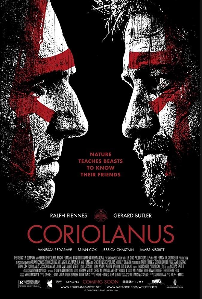 Coriolanus trailer del film