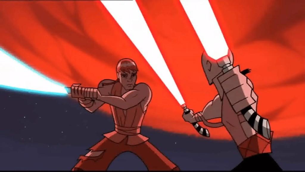 Ventress contro Anakin - Star Wars: Clone Wars