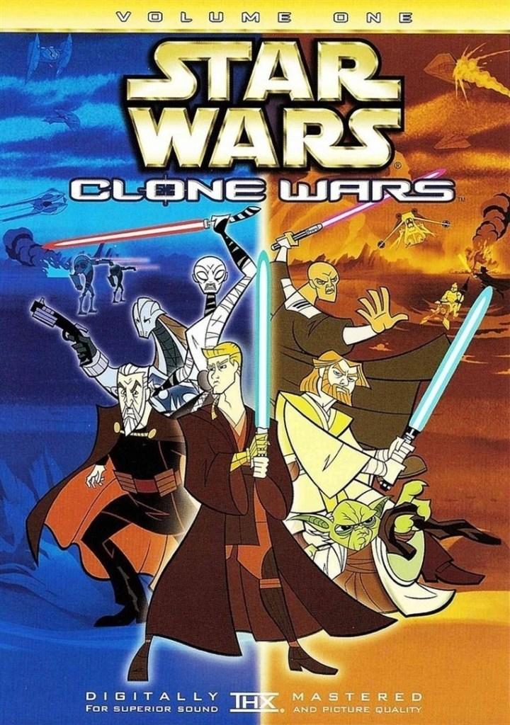 Star wars clone wars volume 1 locandina recensione
