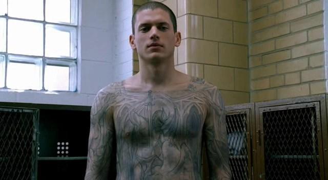 tatuaggio in Prison Break