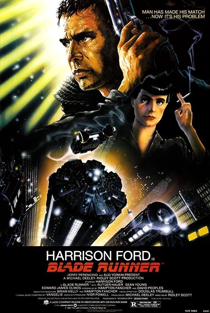 Blade Runner (1982) - Locandina film