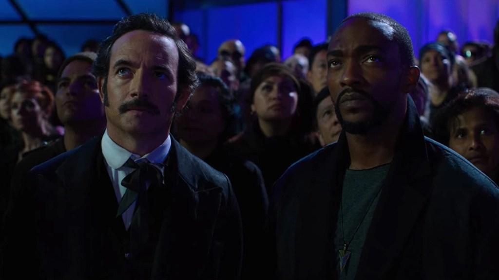 Chris Conner e Anthony Mackie in Altered Carbon 2