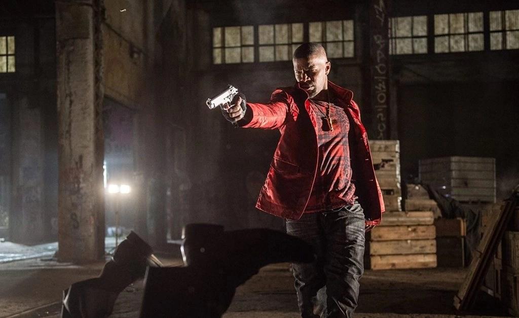 Jamie Foxx in Baby Driver (2017)