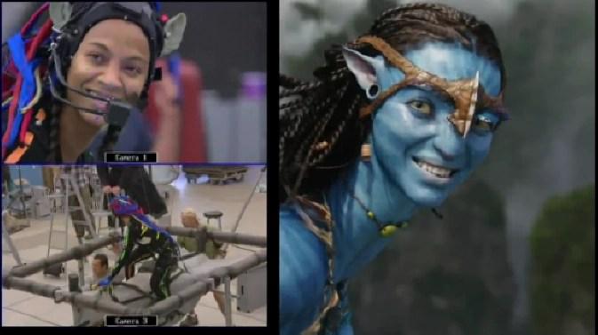 cgi motion capture - Avatar set