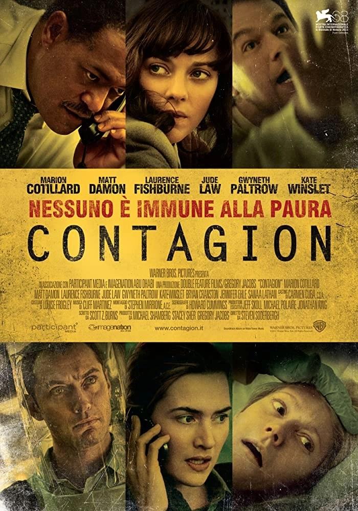 contagion locandina film