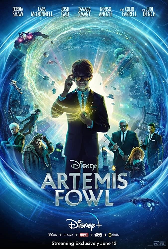 Artemis Fowl locandina del film