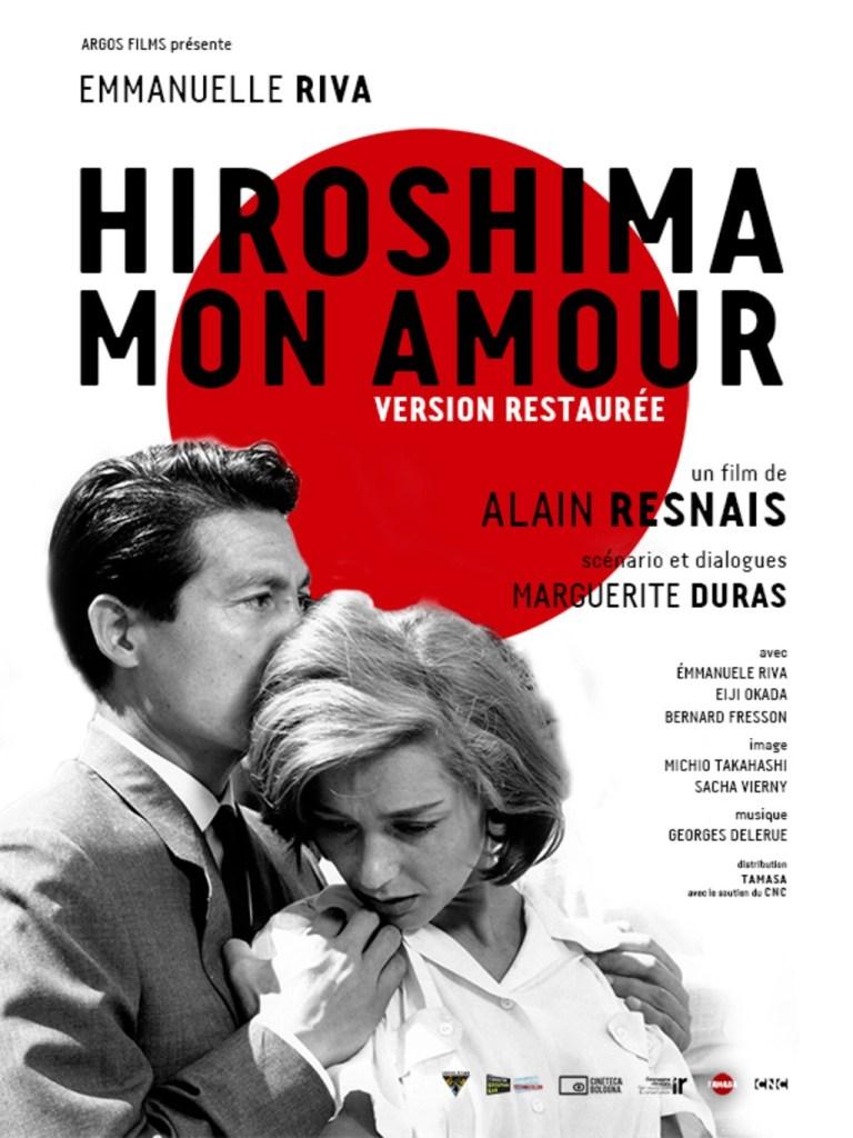 Hiroshima Mon Amour locandina