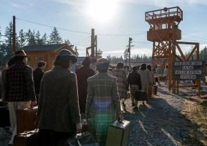 I campi di prigionia in The terror Infamy