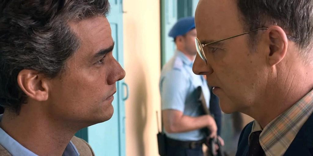 Wagner Moura e Brían F. O'Byrne in Sergio (2020)