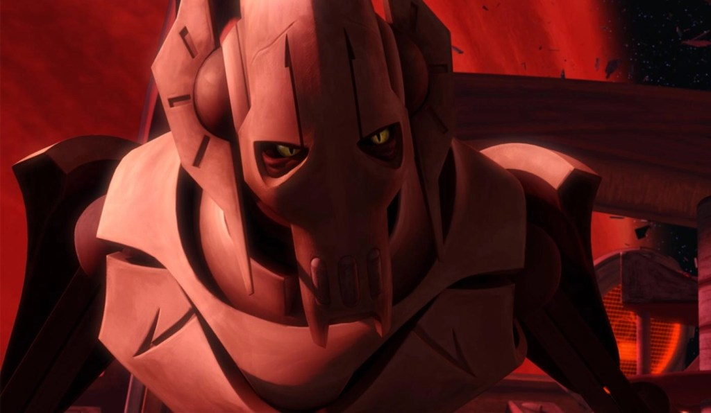 Generale Grievous in Star Wars The Clone Wars prima stagione