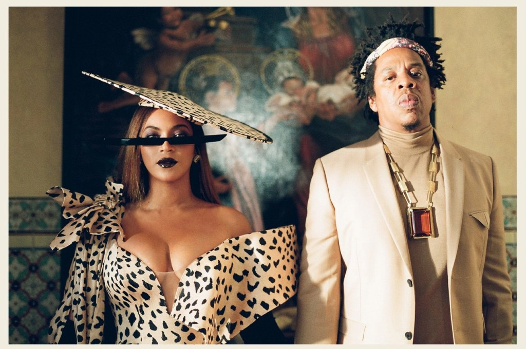 Jay-Z e Beyoncé in Black Is King