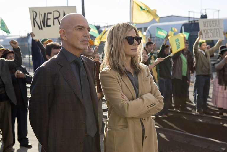 Sandra Bullock e Billy Bob Thornton in All'ultimo voto