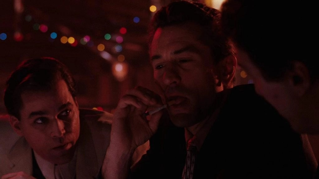 Ray Liotta e Robert De Niro in Quei bravi ragazzi