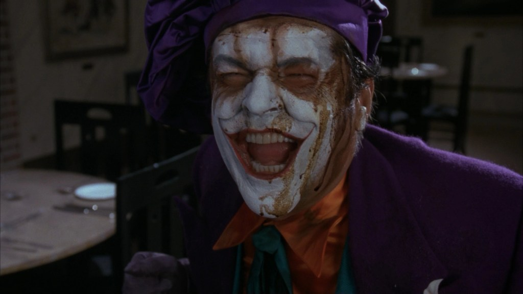 Joker (Jack Nicholson) in una scena del film - Batman (1989)