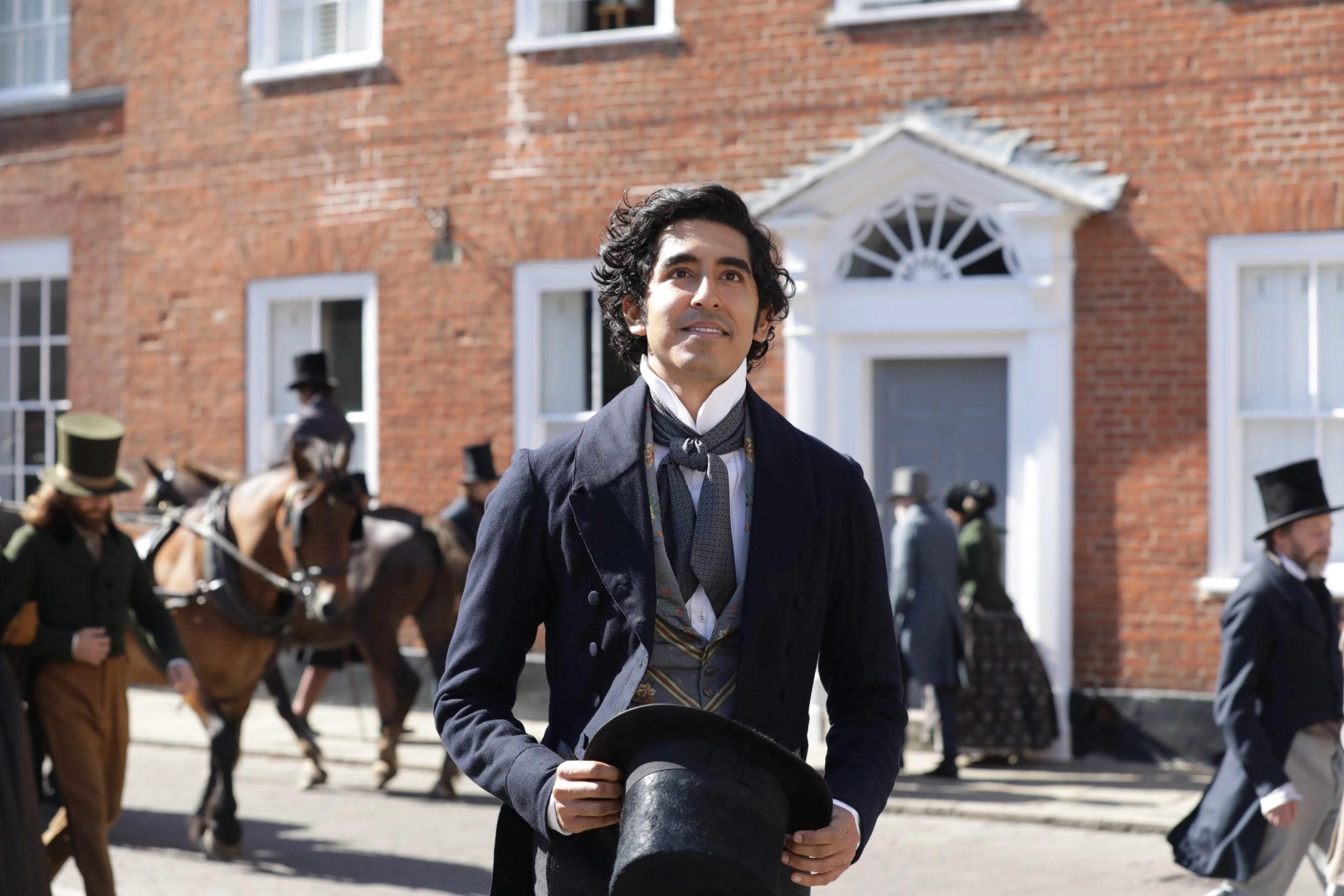 """Dev Patel in """"La vita straordinaria di David Copperfield"""" (2019)"""