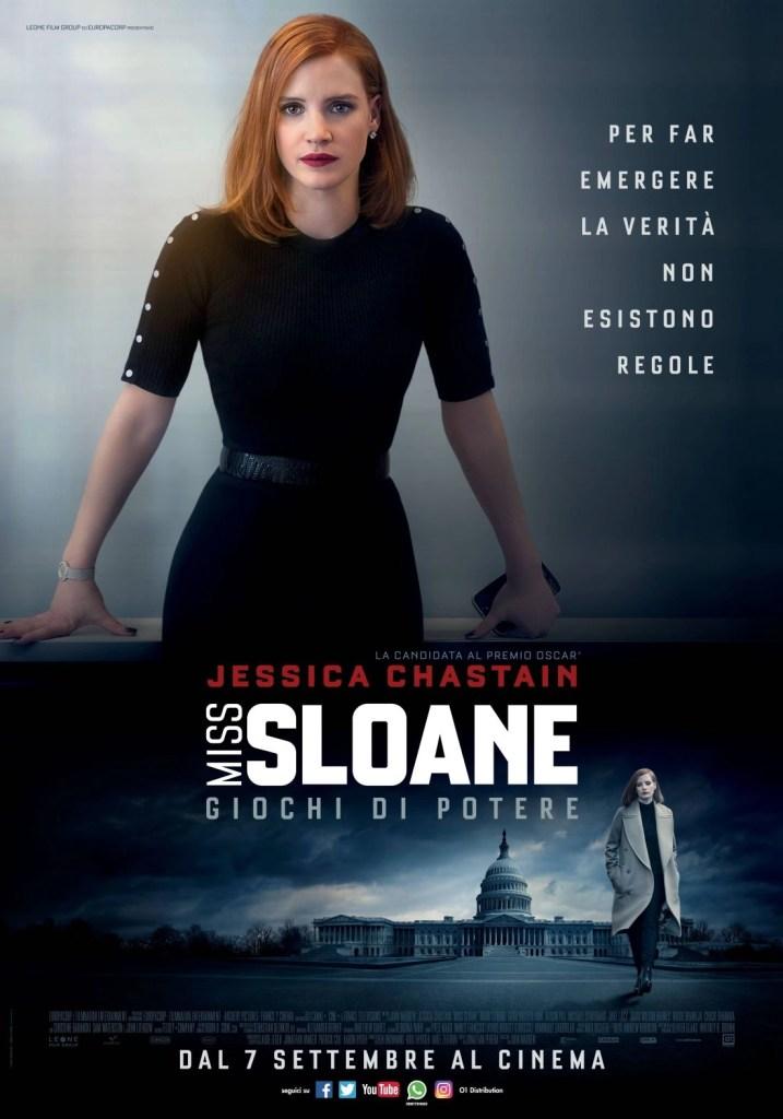 Miss Sloane - Giochi di potere: Fino a che punto si è disposti ad arrivare per vincere? 1