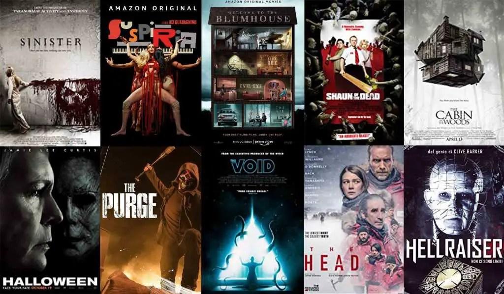 Prime video film horror per halloween