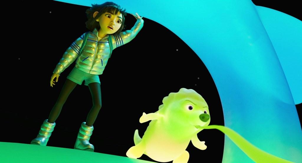 Scena del film Over The Moon