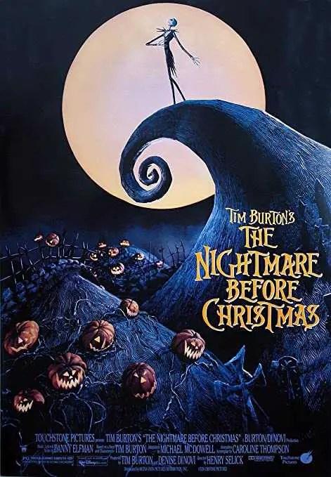 Nightmare Before Christmas locandina