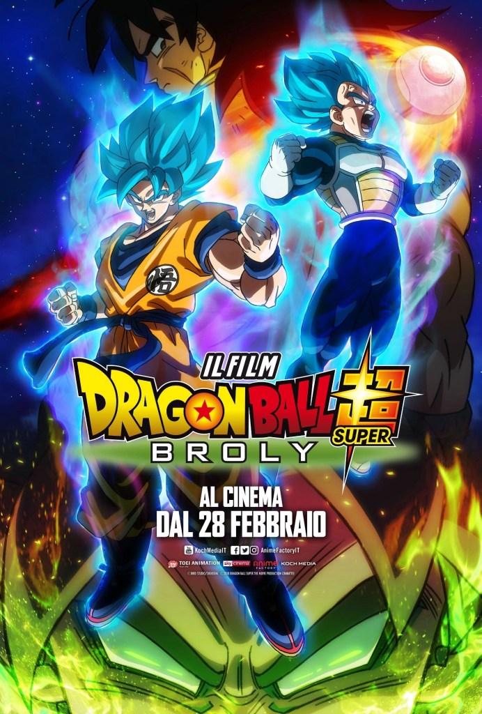 Dragon Ball Super - Broly locandina