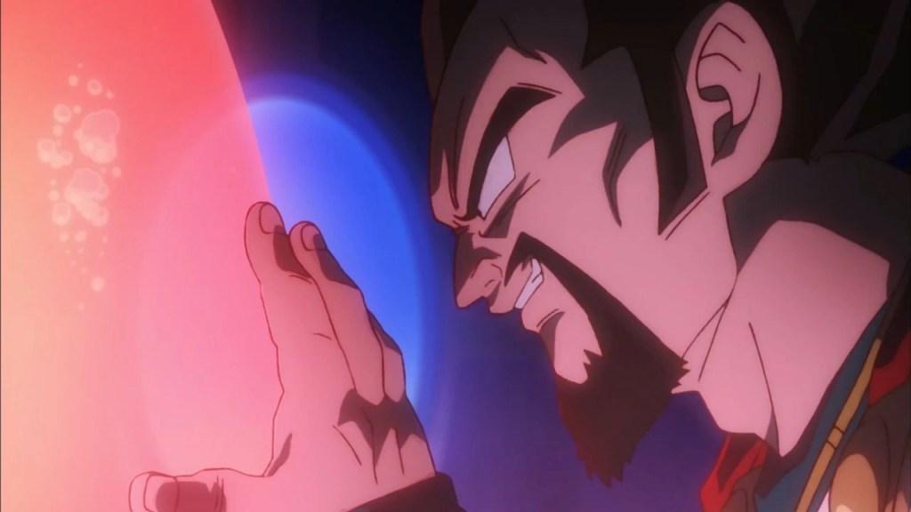 Re Vegeta III in una scena del film - Dragon Ball Super : Broly
