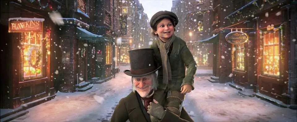 Scrooge e il piccolo Tim