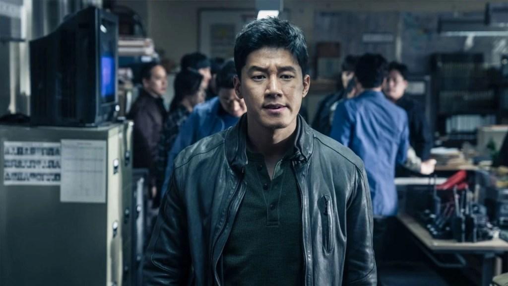 Jung Tae-suk (Kim Mu-yeol) in una scena del film - The Gangster the Cop the Devil