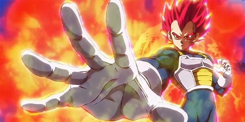 Vegeta in una scena del film - Dragon Ball Super : Broly